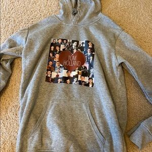 bundle of tom holland hoodies